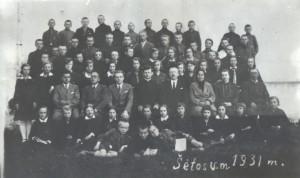 07 Šetos vidurine mokykla 1931