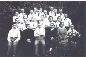 10 Progimnazijos mokiniai ir mokytojai 1937