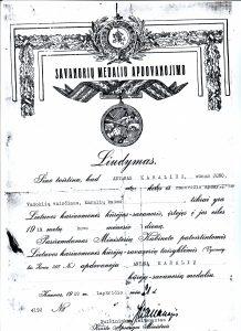 17-savanoriu-medaliu-apdovanojimo-liudijimas